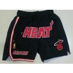Heat Black Just don shorts