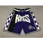 King purple just don shorts