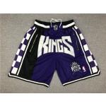 King purple just don shorts