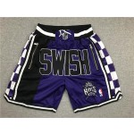 King purple SWISH Kings just don shorts