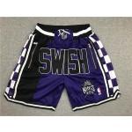 King purple SWISH Kings just don shorts