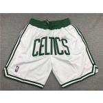 Celtic white just don shorts