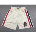 Blazers City Edition White Shorts