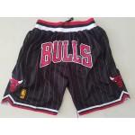 Bull stripes Just don shorts black