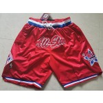 All-star Just don red shorts