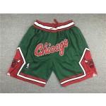 Bull green C-shaped Siamese Just don shorts