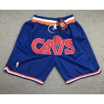 Cavalier Blue CAVS Just don shorts