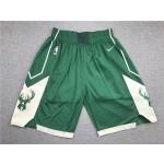 Milwaukee Bucks Green Shorts