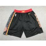 Atlanta Hawks Black Shorts