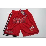 Heat Red Just don shorts