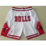 Bulls Just don shorts white