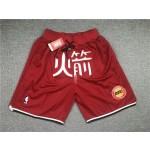 Rockets Red Shorts