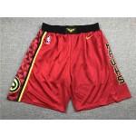 Atlanta Hawks red Shorts