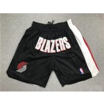 Trailblazer Black Just don shorts