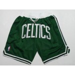 Celtic green just don shorts