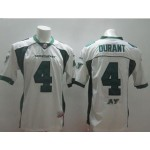 CFL Saskatchewan Roughriders Durant #4 white jersey