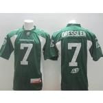 CFL Saskatchewan Roughriders dressler #7 Green jersey