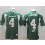CFL Saskatchewan Roughriders Durant #4 Green jersey