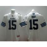 CFL Toronto Argonauts Ray #15 white jersey