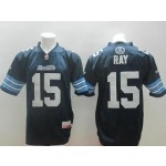 CFL Toronto Argonauts Ray #15 blue jersey