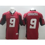CFL Calgary Stampeders Cornish #9 red jersey