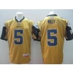 CFL Winnipeg Blue Bombers Willy #5 Yellow jersey