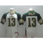 CFL Edmonton Eskimos Reilly #13 white jersey