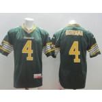 CFL Edmonton Eskimos Bowman #4 Green jersey