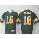 CFL Edmonton Eskimos Nichols #16 Green jersey