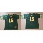 CFL Edmonton Eskimos Ray #15 Green jersey