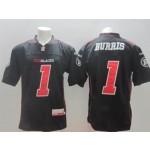 CFL Ottawa Redblacks Henry Burris #1 black jersey