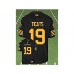 CFL Hamilton Tiger Cats Ticats #19 black jersey