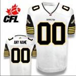 CFL Hamilton Tiger Cats Customized white jersey