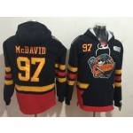 CHL Erie Otters McDAVID #97 black Throwback jersey