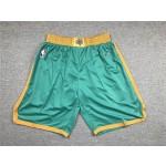 Boston Celtics green shorts