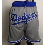 Los Angeles Dodgers gray Just don shorts