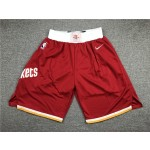 Houston Rockets Red Shorts