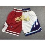 Bulls vs Jazz Just don shorts