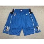 Dallas Mavericks blue shorts
