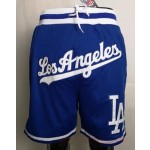 Los Angeles Dodgers blue Just don shorts