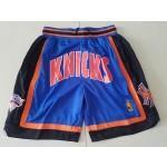 Knicks Blue Just don shorts