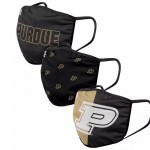 Purdue Boiler Adult Cloth Face Covering 3-Pack