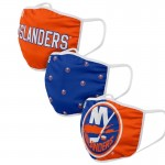 New York Islanders Face Covering 3-Pack