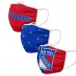 New York Rangers Face Covering 3-Pack