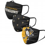 Pittsburgh Penguins Face Covering 3-Pack