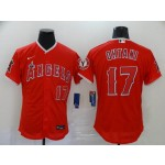 MLB Los Angeles Angels #17 Shohei Ohtani Red 2020 Nike Flexbase Jersey