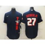 Toronto Blue Jays #27 Vladimir Guerrero Jr. Navy 2021 MLB All-Star Game Cool Base Jersey