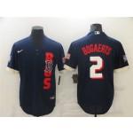 Boston Red Sox #2 Xander Bogaerts Navy 2021 MLB All-Star Game Cool Base Jersey