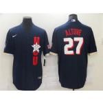 Houston Astros #27 Jose Altuve Navy 2021 MLB All-Star Game Cool Base Jersey