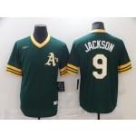 Men's Oakland Athletics #9 Jackson Green Game Nike MLB Jersey